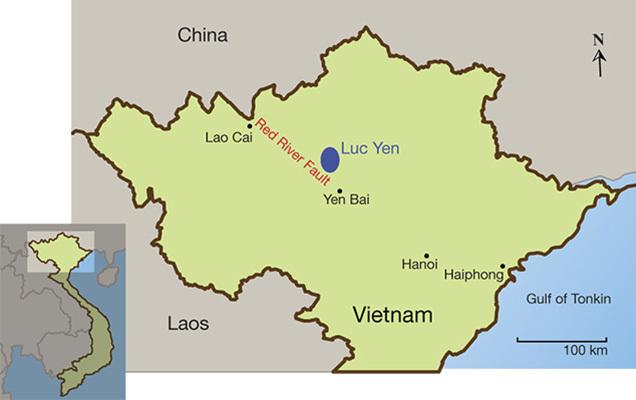 Giới thiệu về mỏ đá và nghề làm tranh         kim cương Lục yên, Yên bái