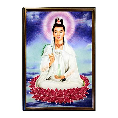 Ý nghĩa tranh Phật Bà Quan Thế Âm và cách treo đúng phong thủy