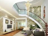 Hướng dẫn chọn những bức tranh đá quý đẹp hợp phong thủy treo cầu thang