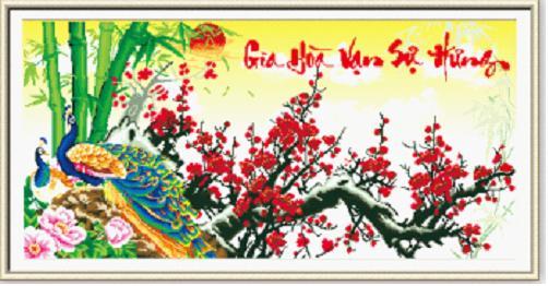 Ý nghĩa của bức tranh gia hòa vạn sự hưng – Gia đình hòa thuận sẽ thịnh vượng