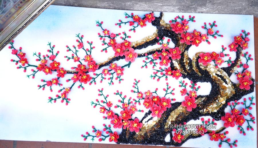 Mẫu 2, Tranh hoa đào