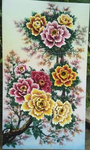 Hoa mẫu đơn 9 bông